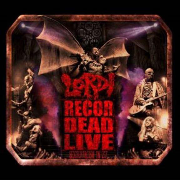 Lordi Recordead Live - Sextourcism In Z7 (Blue) LP 2019