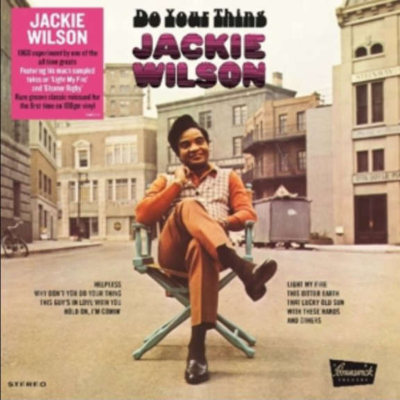 Jackie Wilson Do Your Thing LP 2019