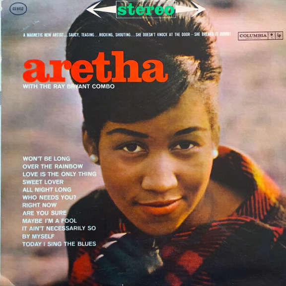 Aretha Franklin Aretha Franklin with the Ray Bryant Combo LP 2019