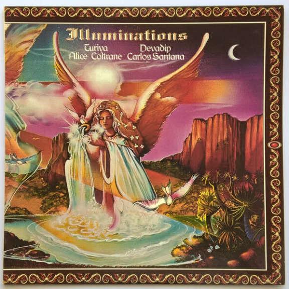 Alice Coltrane & Carlos Santana Illuminations LP 2019