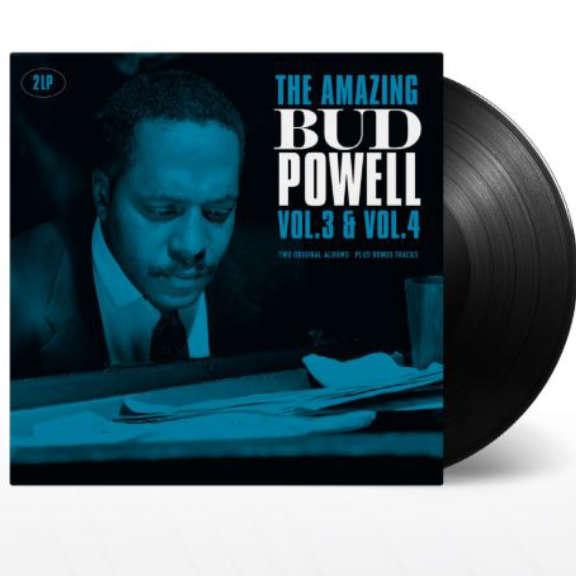 Bud Powell The Amazing Bud Powell Vol. 3 & Vol. 4 LP 2019