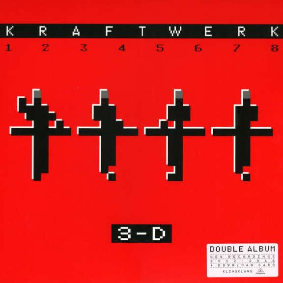 Kraftwerk 3-D The Catalogue LP 2017