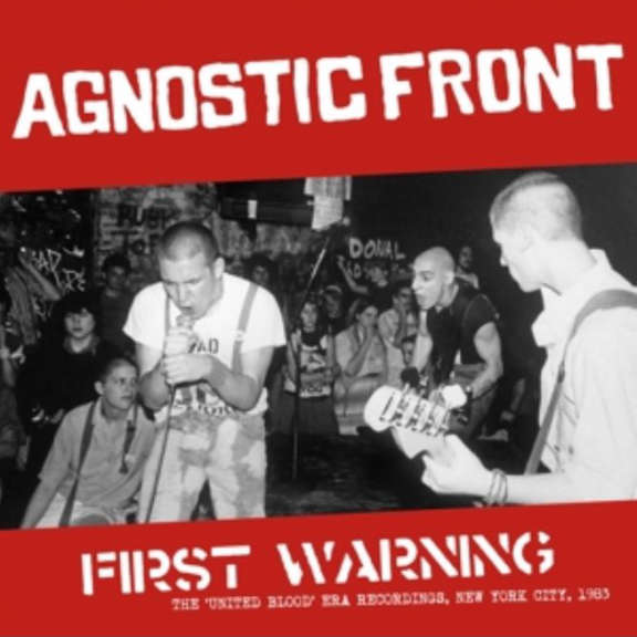Agnostic Front First Warning LP 2019