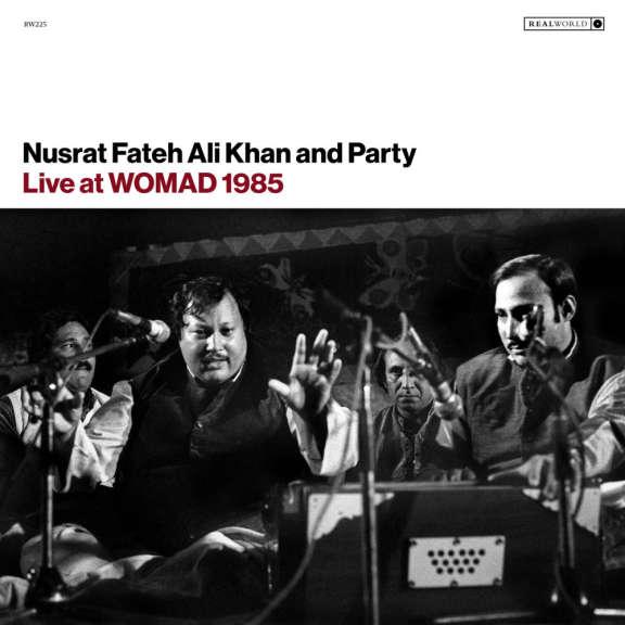 Nusrat Fateh Ali Khan & Party Live at WOMAD 1985 LP 2019