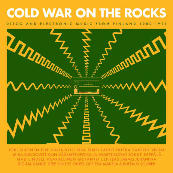 Various Artists Cold War on the Rocks - Disco and Electronic Music from Finland 1980-1991 LP 2019