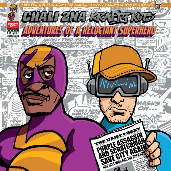 Chali 2na & Krafty Kuts Adventures of a Reluctant Superhero LP 2019