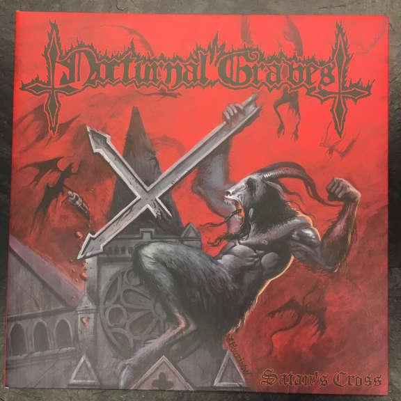 Nocturnal Graves Satan's Cross LP 2007