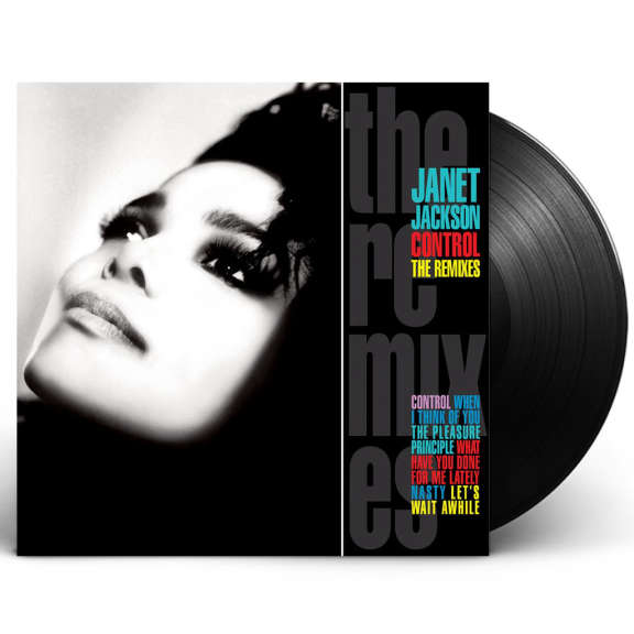Janet Jackson Control: The Remixes LP 2019