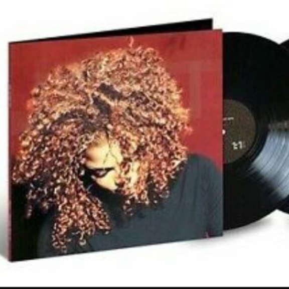 Janet Jackson Velvet Rope LP 2019