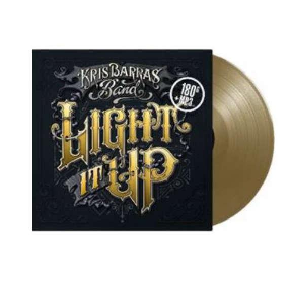 Chris Barras Band Light It Up LP 2019