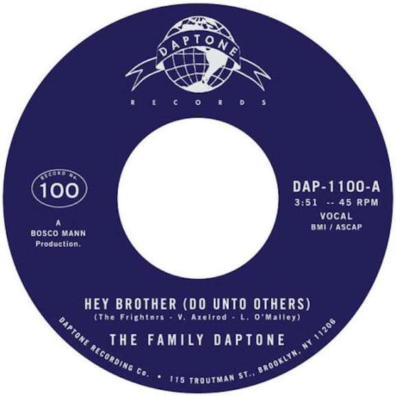 Family Daptone Hey Brother (Do Unto Others) 7'' LP 2019