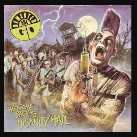 Demented Are Go Welcome Back to Insanity Hall LP 2019