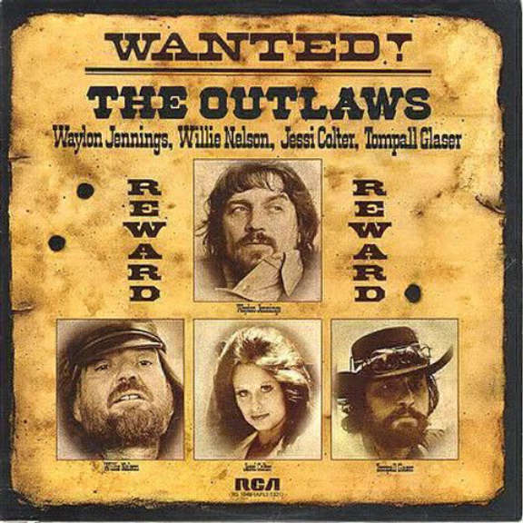Jennings, Willie, Nelson Wanted! The Outlaws LP 2019