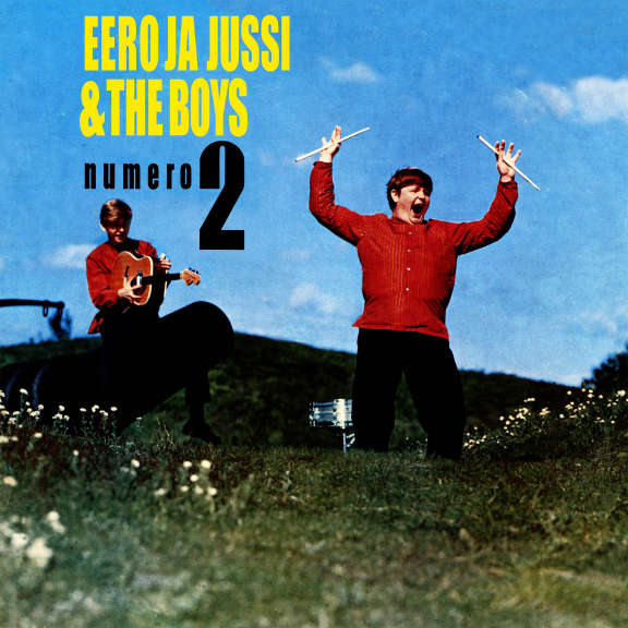 Eero ja Jussi & The Boys Numero 2 (Rolling Exclusive, sininen, nimmarilla) LP 2019