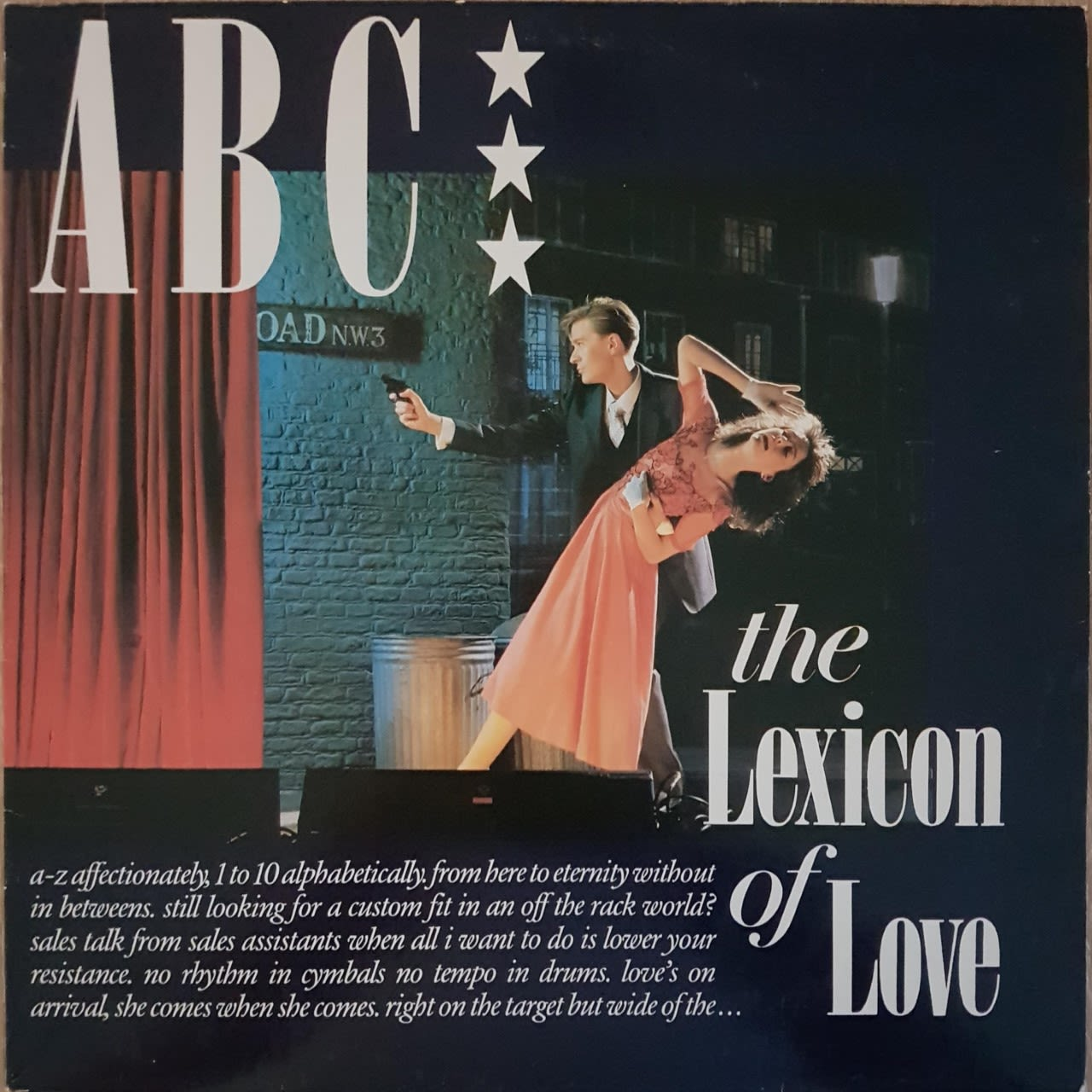 ABC The lexicon of love LP undefined