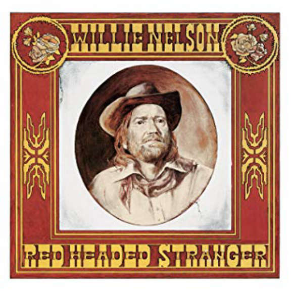 Willie Nelson Red Headed Stranger LP 2019