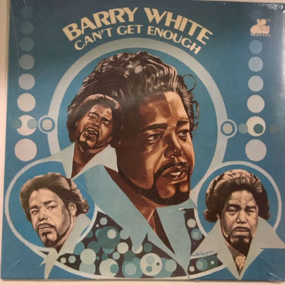 Barry White Can't Get Enough LP 2018
