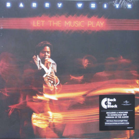 Barry White Let the Music Play LP 2018