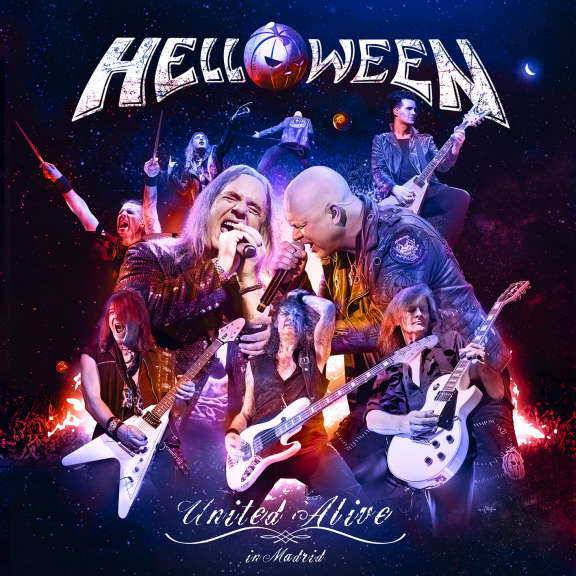 Helloween United Alive LP 2019
