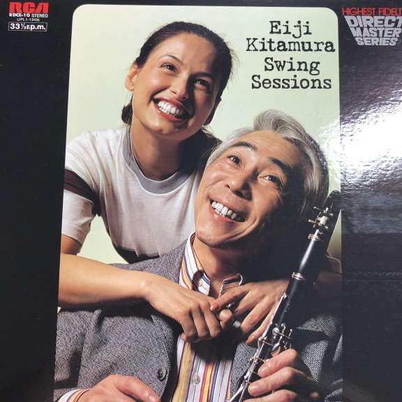 Eiji Kitamura Swing Sessions LP 1978