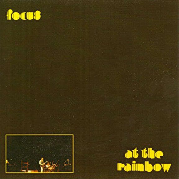 Focus At The Rainbow (Yellow) LP 2019