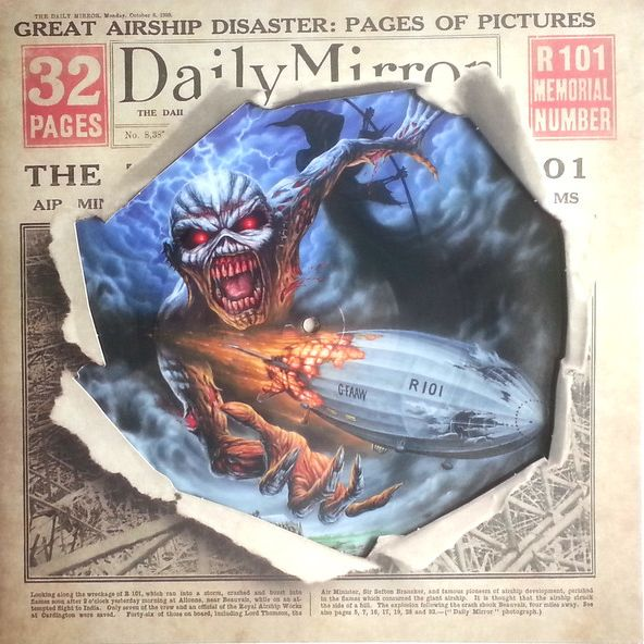 IRON MAIDEN  EMPIRE OF CLOUDS [RSD 2016] LP undefined