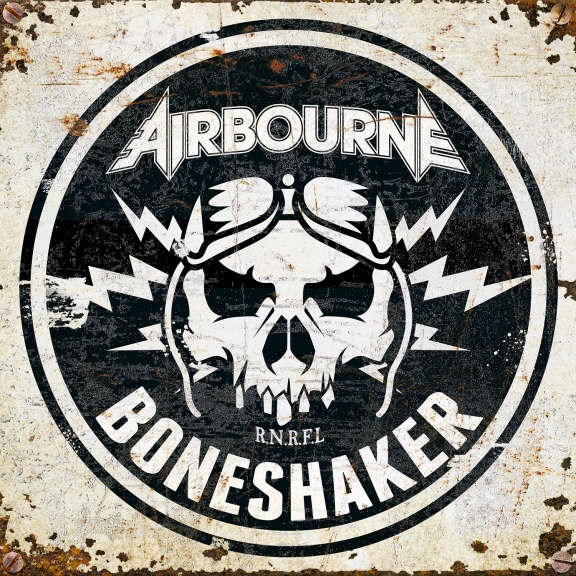 Airbourne Boneshaker (Black) LP 2019