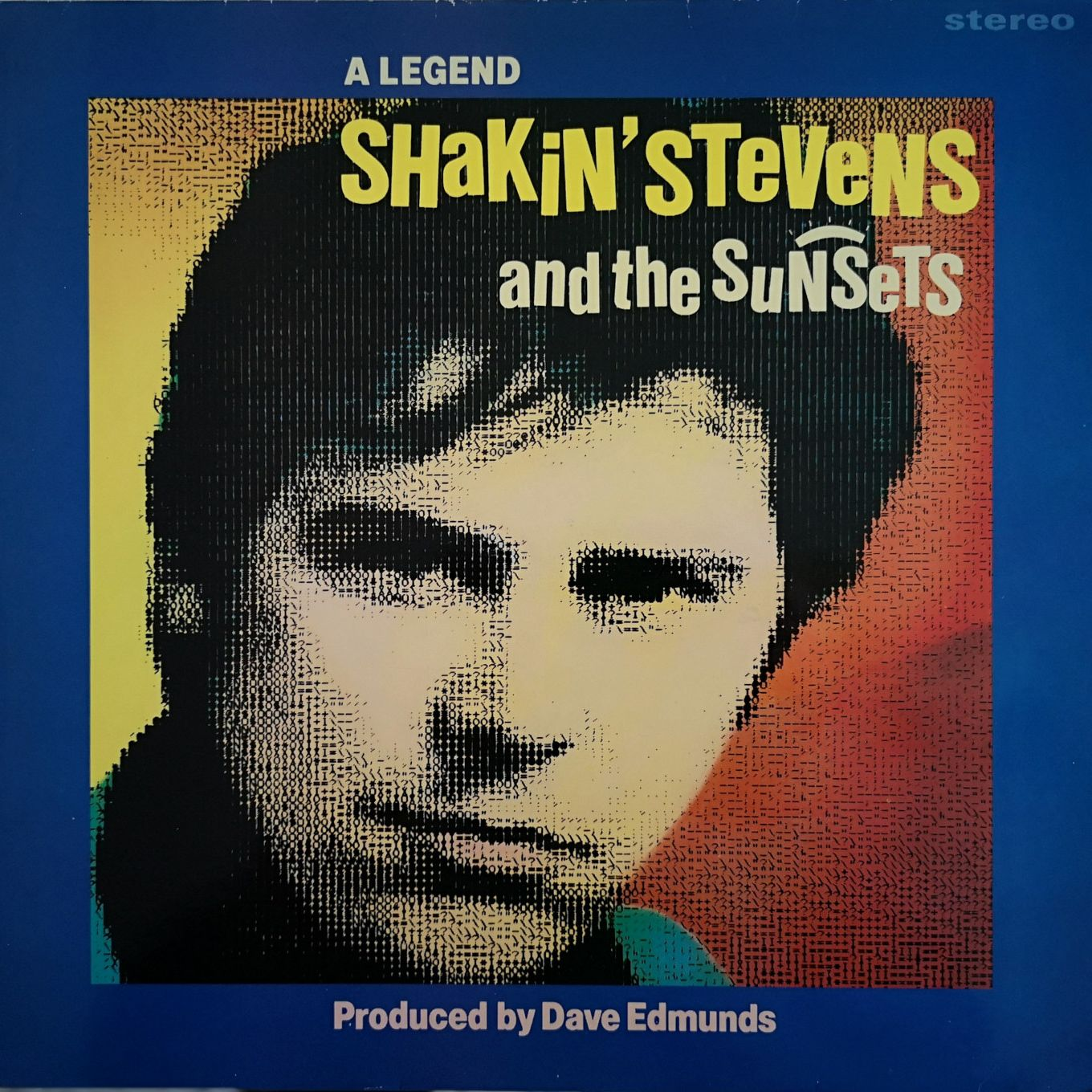Shakin' Stevens And The Sunsets A Legend LP undefined