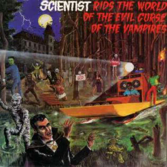 Scientist Rids the World of the Evil Curse of the Vampires LP 2019