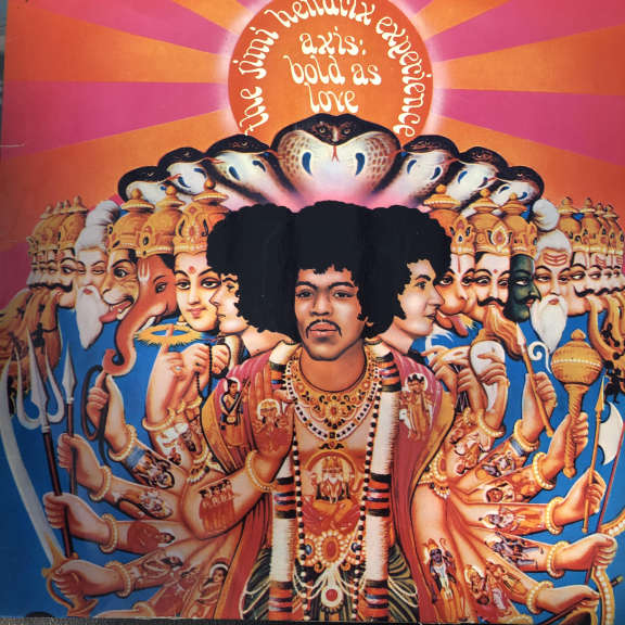 The Jimi Hendrix Experience Axis: Bold As Love LP 1967