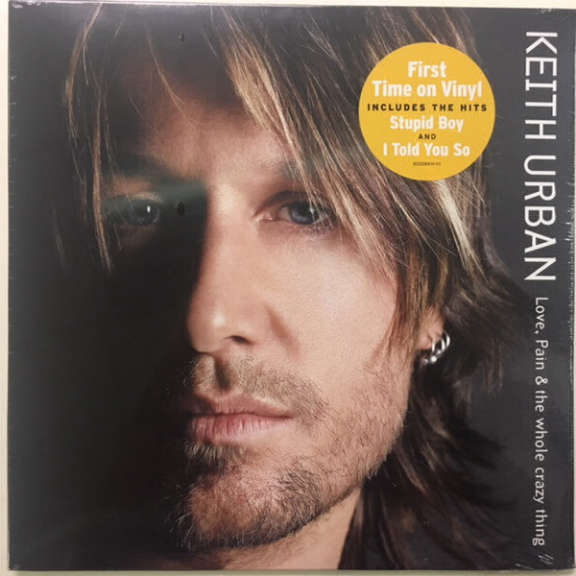 Keith Urban Love, Pain & The Whole Crazy Thing LP 2018