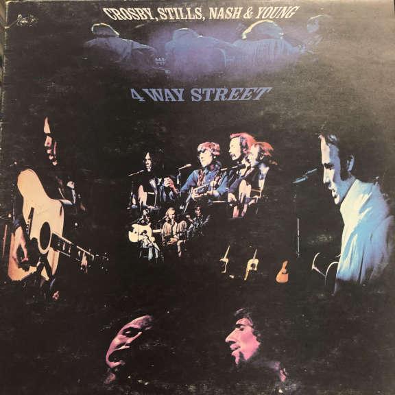 Crosby, Stills, Nash & Young 4 Way Street LP 1971