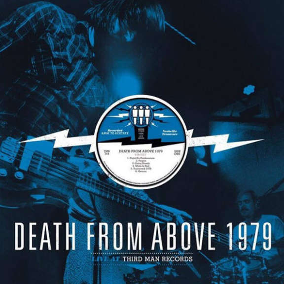Death from Above 1979 Live at Third Man Records LP 2016