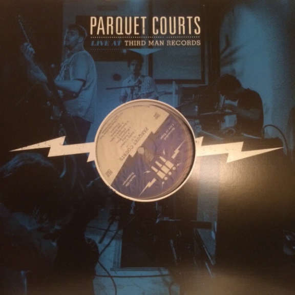 Parquet Courts Live at Third Man Records LP 2015