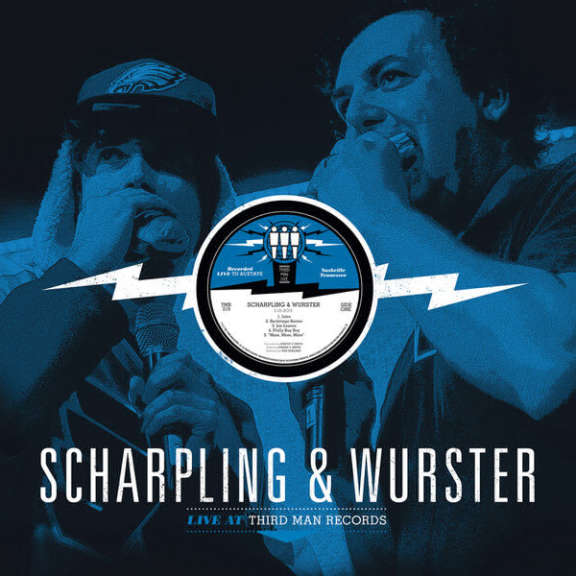 Scharpling & Wurster Live at Third Man Records LP 2016