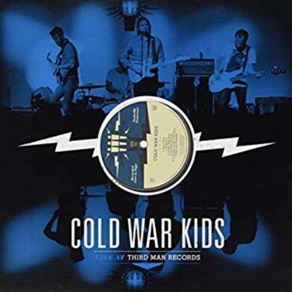 Cold War Kids Live at Third Man Records LP 2010
