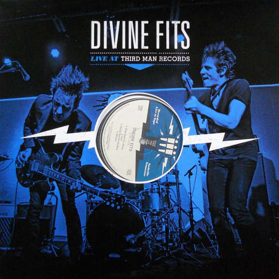 Divine Fits Live at Third Man Records LP 2016