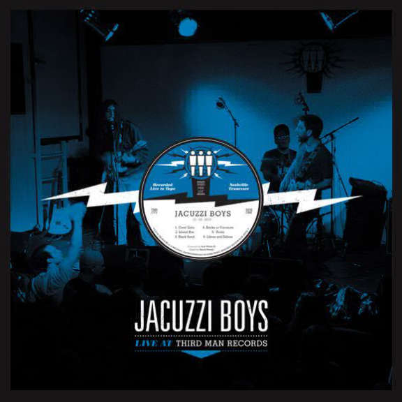 Jacuzzi Boys Live at Third Man Records LP 2010