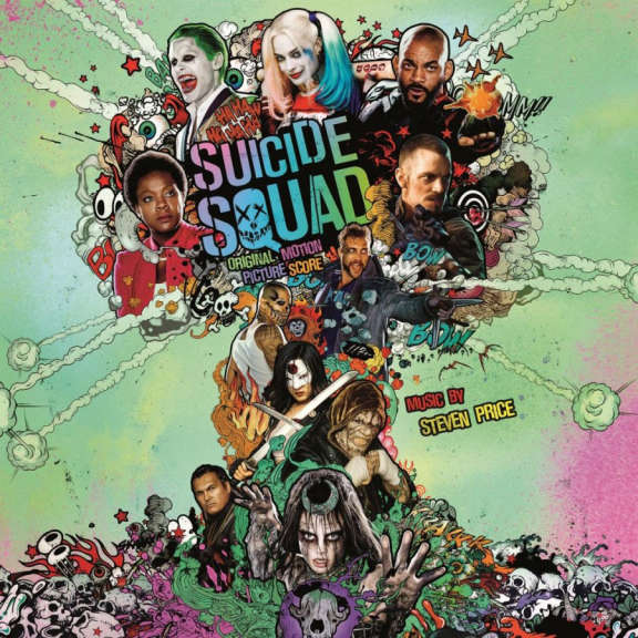 Original Soundtrack Suicide Squad (Coloured) LP 2019