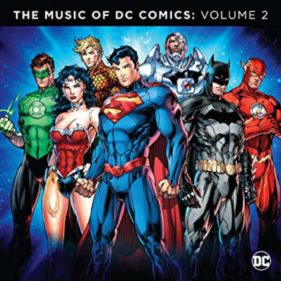 Various The Music Of DC Comics: Vol. 2 (Coloured) LP 2019