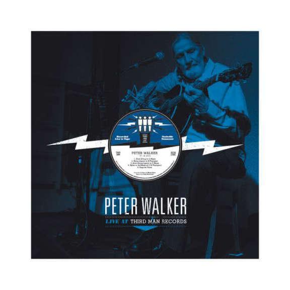 Peter Walker Live at Third Man Records LP 2014