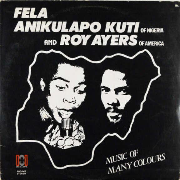 Fela Anikulapo Kuti & Roy Ayers Music Of Many Colours LP 2019