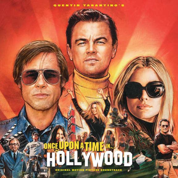 Various Quentin Tarantino Soundtrack : Once Upon a Time in Hollywood (Coloured) LP 2019