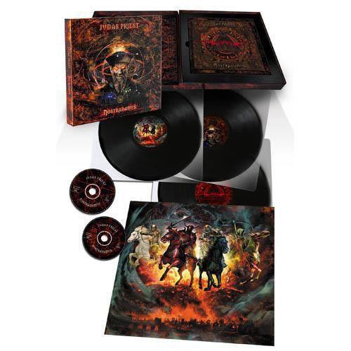 JUDAS PRIEST NOSTRADAMUS [BOX SET 3LP + 2CD LTD ED] LP undefined