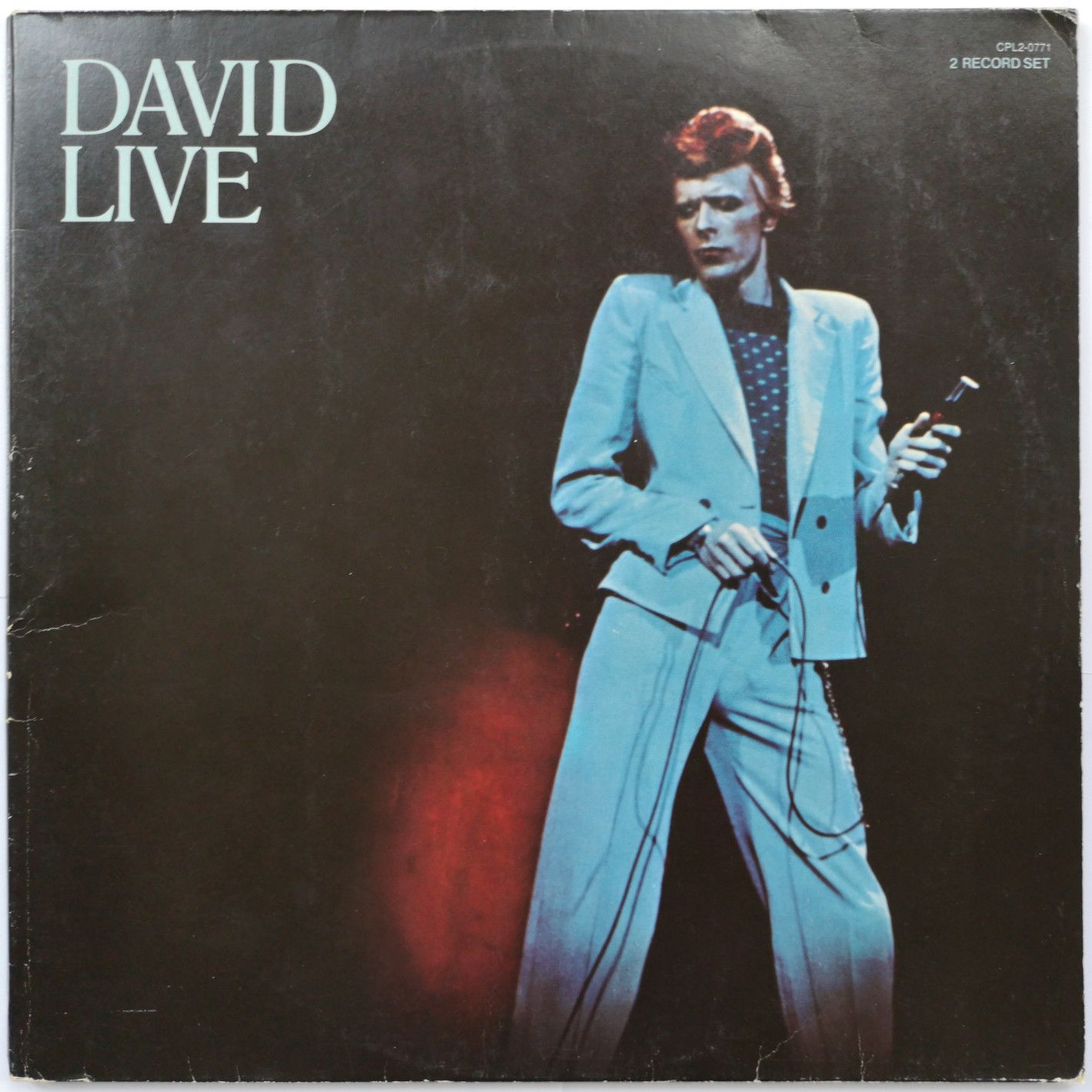 David Bowie David Live LP undefined
