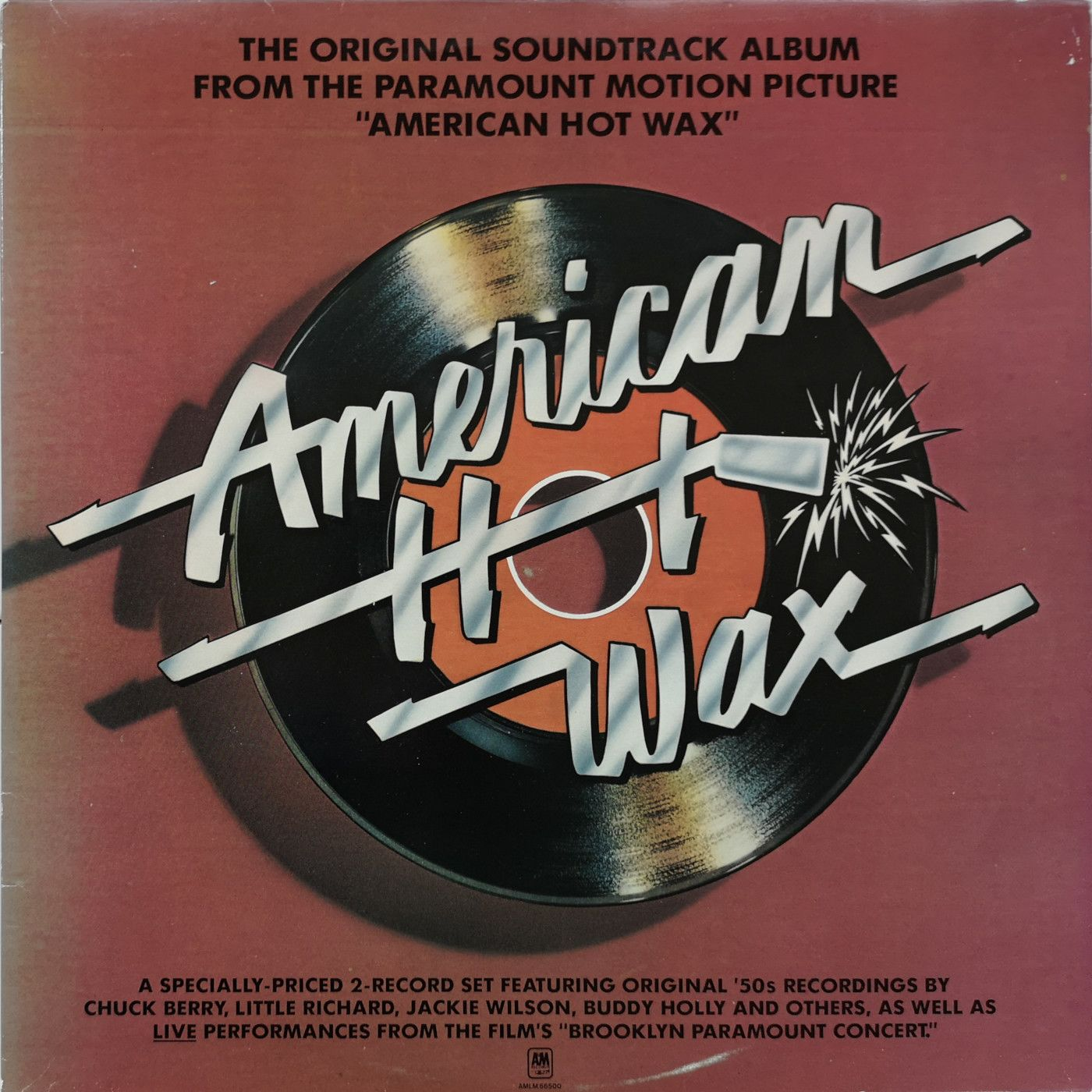 VVarious American Hot Wax - The Original Soundtrack Album From The Paramount Motion Picture LP undefined