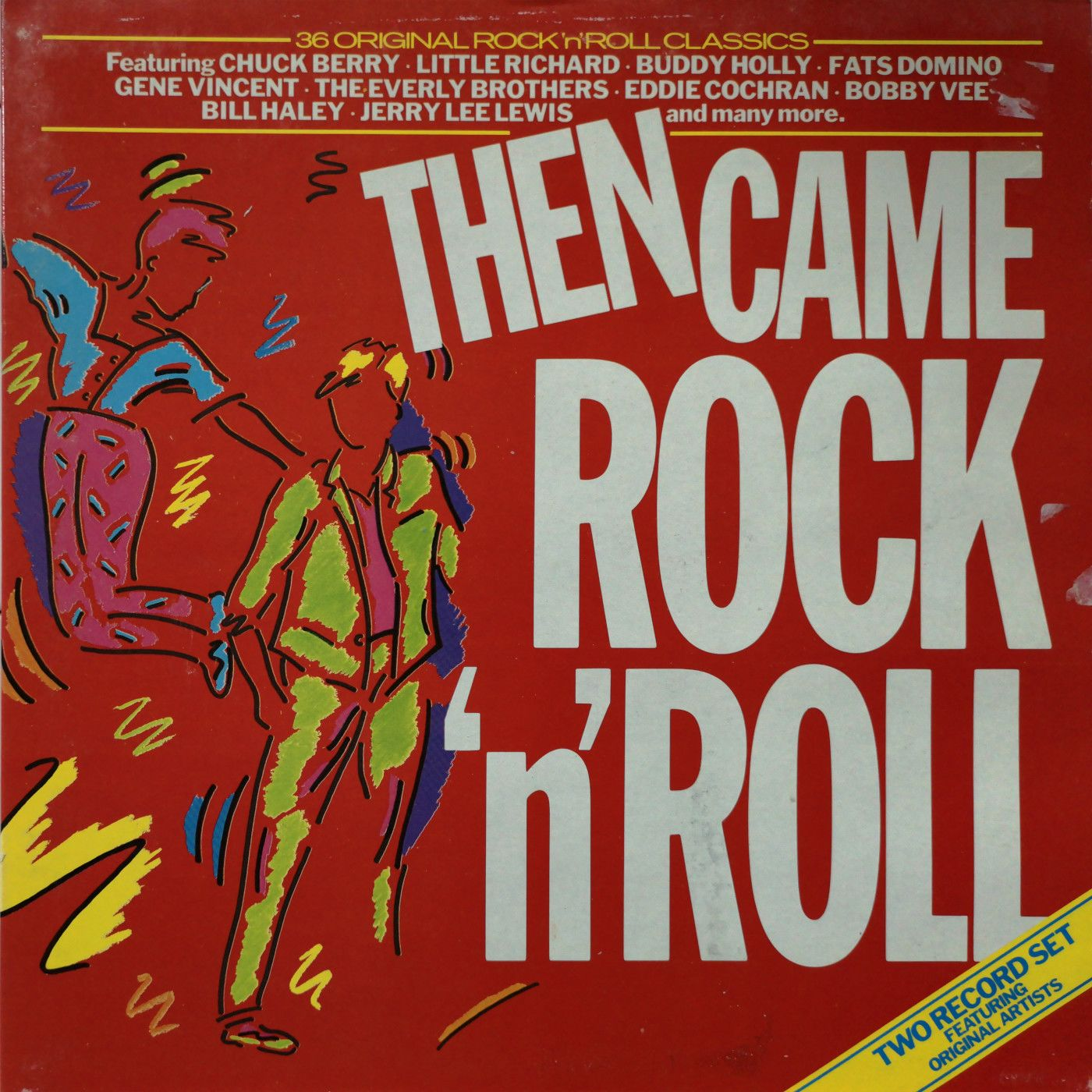 Various Then Came Rock 'N' Roll  LP undefined