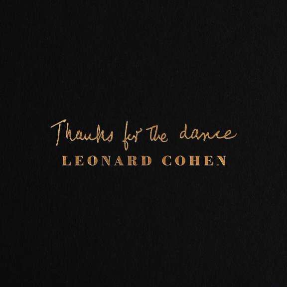 Leonard Cohen Thanks for the Dance   LP 2019