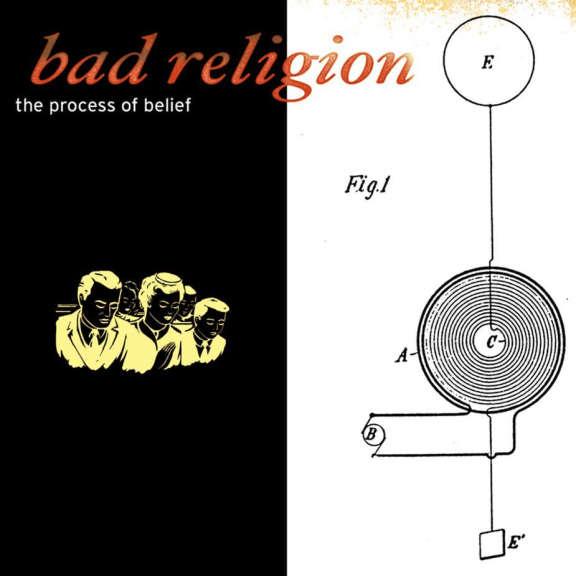 Bad Religion Process of belief (Black) LP 2019