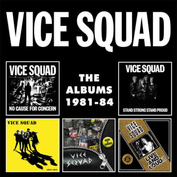 Vice Squad The Albums 1981-84 (Boxset) Oheistarvikkeet 2019